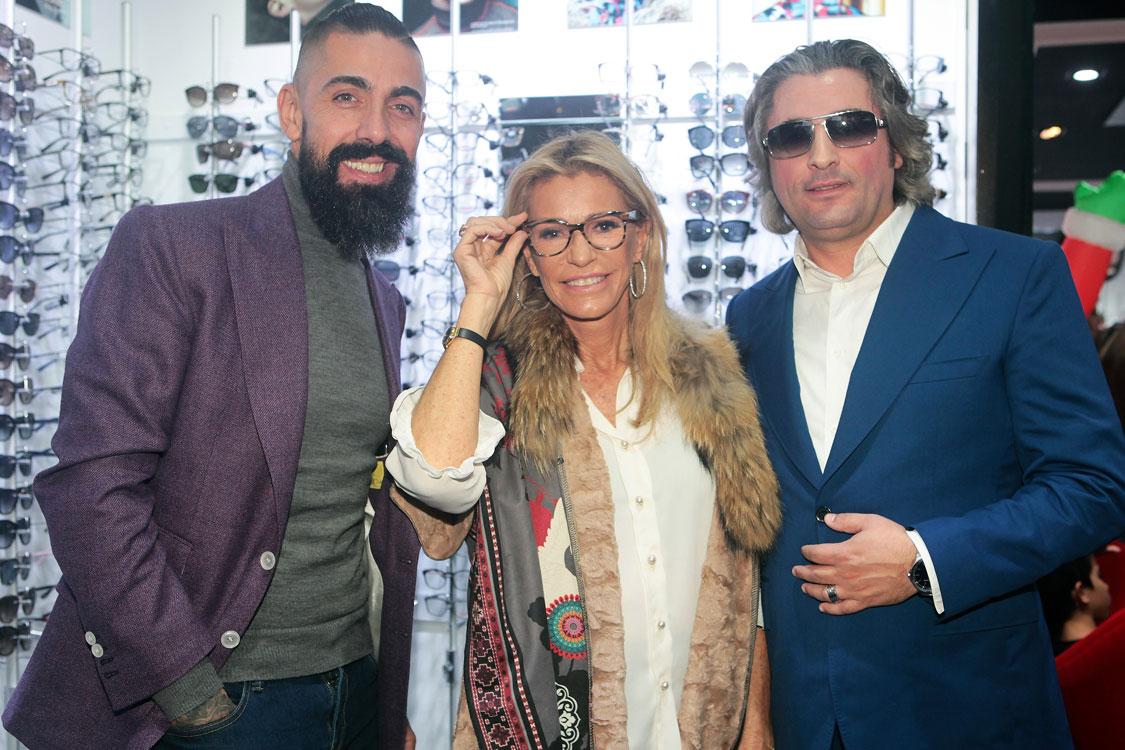 18fdeed141f3a Veja todas as caras conhecidas que estiveram na inauguração oficial da Chiado  Eyeglass Factory!