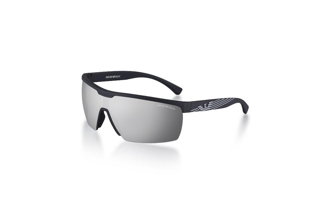 EA 4116 – Uma expressão perfeita do estilo ativo e desportivo da Emporio  Armani. Esta forma envolvente possui lentes sem borda. 0f5449afb4