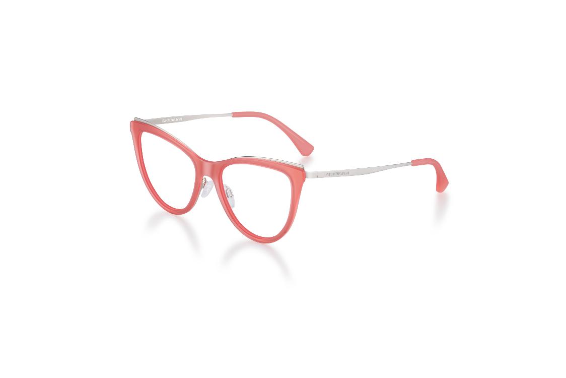8afcb00c7 EA 2063 – EA 1074 – Óculos femininos em formato olho de gato e um toque  romântico, propostos numa mistura de materiais super leves.