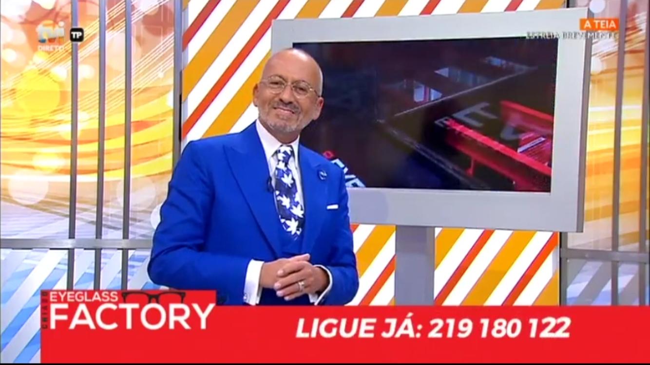 """a93e6b43b7787 Foi com muito orgulho que, hoje, a nossa ótica marcou presença no """"Você na  TV!"""". Em poucos segundos, Manuel Luís Goucha enumerou algumas das  principais ..."""