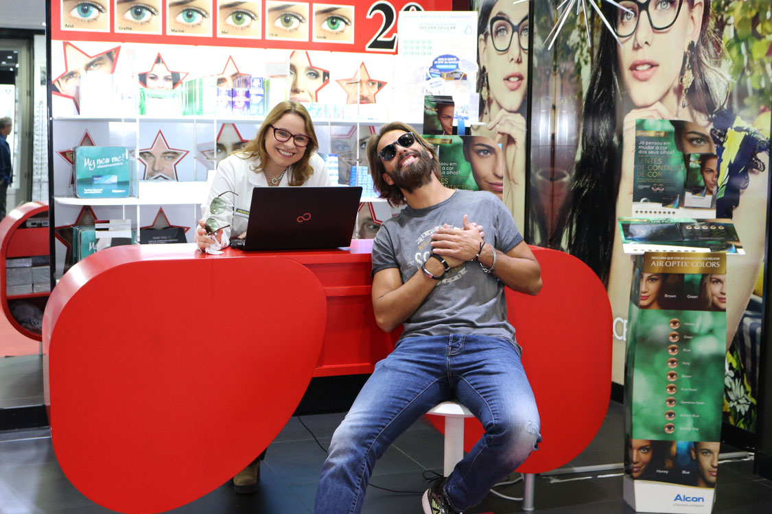 A animada visita de Pedro Guedes à Chiado Eyeglass Factory!