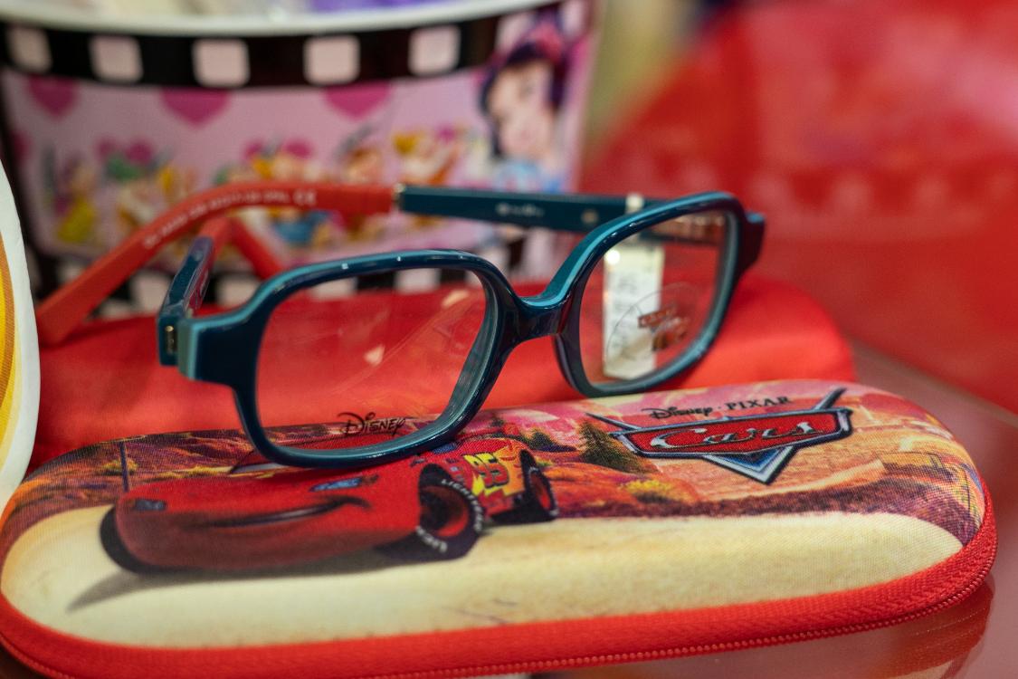 """Sabia que a nossa ótica de criança é a """"Disney dos óculos""""?"""