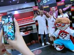 Selfie na Chiado Eyeglass Factory