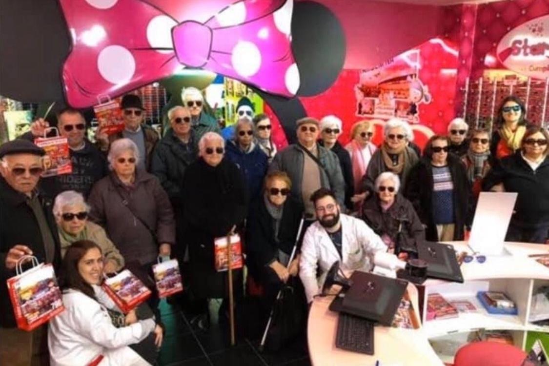 A Fábrica de Óculos do Cacém recebeu uma visita em grande da Vidigueira do Alentejo!
