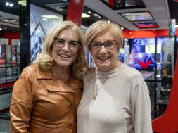 Teresa Guilherme e Lídia Ribeiro