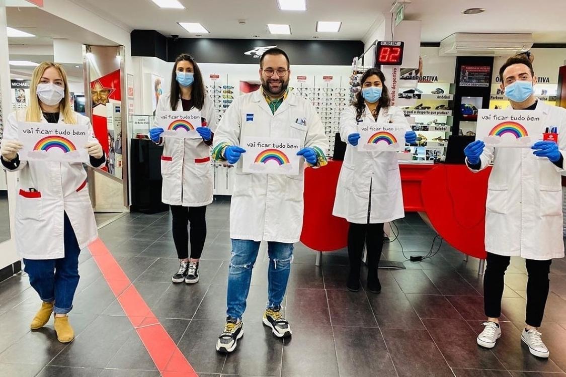 Na Chiado Eyeglass Factory, acreditamos que vai ficar tudo bem!